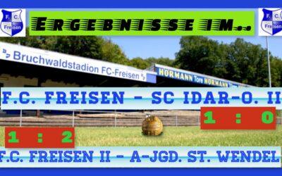 Matchday im Bruchwaldstadion