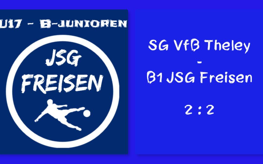SG VfB Theley – B1 JSG Freisen 2 : 2