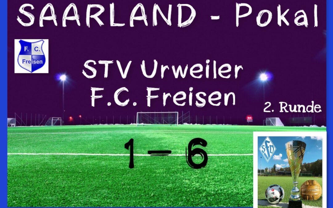 STV Urweiler – F.C. Freisen 1:6