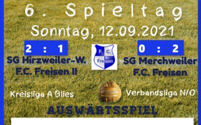 SV Merchweiler – F.C. Freisen   0 : 2